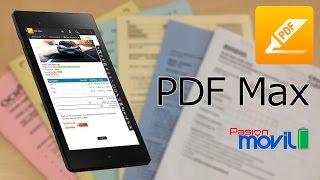 PDF Max en tu Smartphone