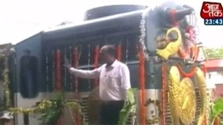 Patna: Loco Makes Smooth Trial Run On Digha-sonepur Bridge