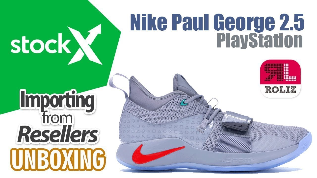 78da2807d509 Stockx - Nike PG 2.5 PLAYSTATION UNBOXING