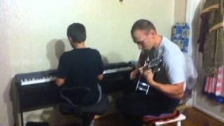 Акустическая гитара и пианино(Metallika - Tol Live Is To Die)