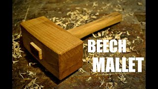 Woodworking - Beech Wood Joiner's Mallet