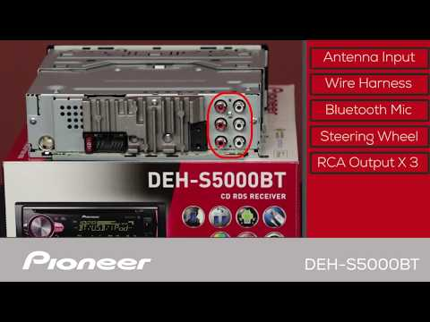 DEH-S5000BT - What's in the Box?