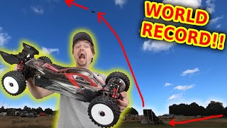 RC Car Long Jump Competition (world record smashed @ Paddlesworth)