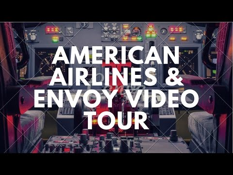 Envoy And American Airlines Tour Of Dispatch, IOC, Training Center, Simulators, SOC At DFW (HD)