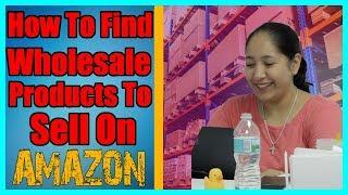 Selling Wholesale On Amazon FBA  - One of My Favorite Ways to Start Selling on Amazon Explained