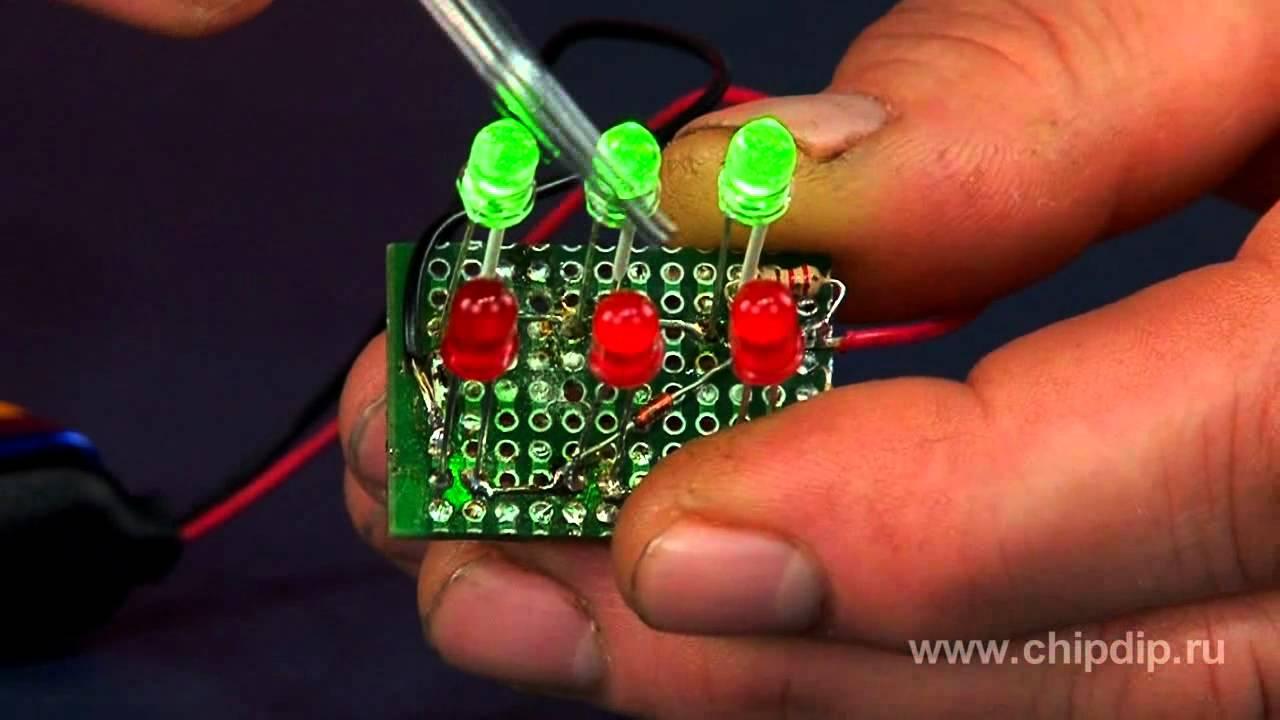 Светодиодные мигалки своими руками