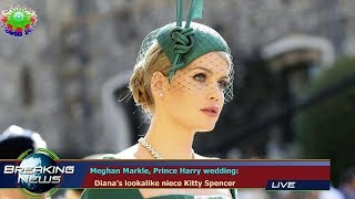 Meghan Markle, Prince Harry wedding:   Diana's lookalike niece Kitty Spencer