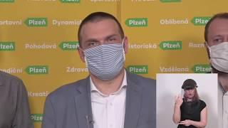ŽIVĚ: Plzeň aktuálně 20.3.2020
