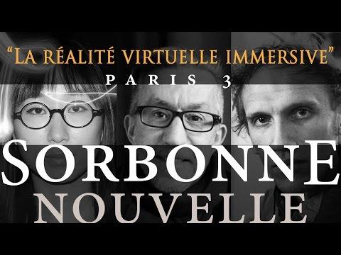Table Ronde sur «La Réalité Virtuelle Immersive» / Université Sorbonne-Nouvelle