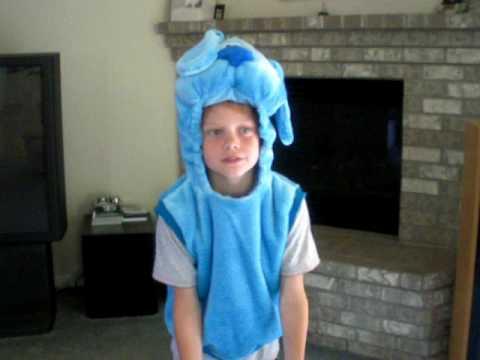Blues clue adult costume