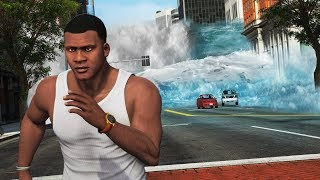 Modding GTA 5 Graphics to the MAX!! (Natural Disaster)
