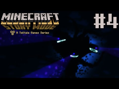 Minecraft Story Mode: The Order of the Stone - Episode 1 | WITHER STORM!!! | Part 4