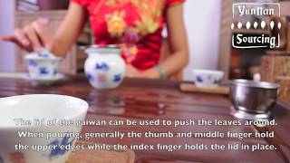 Pu-erh Tea Preparation Using a Gaiwan