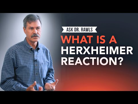 What is a Herxheimer Reaction? - YouTube