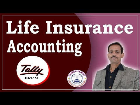 Life Insurance Accounting Entry In Tally ERP 9| LIC Premium Paid Entry In Tally