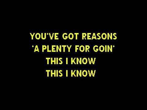 The Last Thing On My Mind - Tom Paxton  KARAOKE version