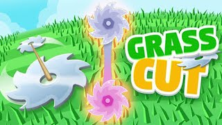 🍃Grass Cut ✂️ - A Satisfying Game if you cut them perfectly Gameplay - iOS Android