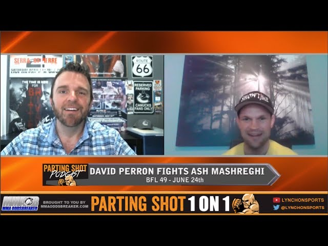 David Perron talks BFL 49, his friend Arjan Bhullar signing with UFC & playing hockey with NHL's Antoine Vermette
