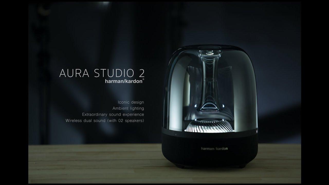 harman kardon aura studio 2 unboxing youtube. Black Bedroom Furniture Sets. Home Design Ideas
