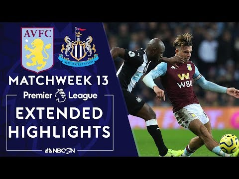 Aston Villa v. Newcastle United | PREMIER LEAGUE HIGHLIGHTS | 11/25/19 | NBC Sports