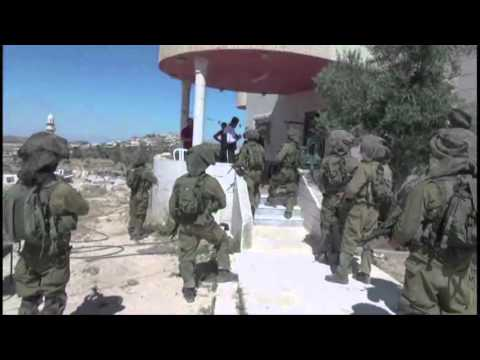 IDF Paratroopers Search for Kidnapped Teenagers