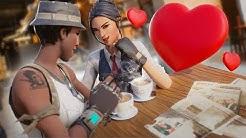 i met the cutest gamer girl on fortnite (we fell in love)