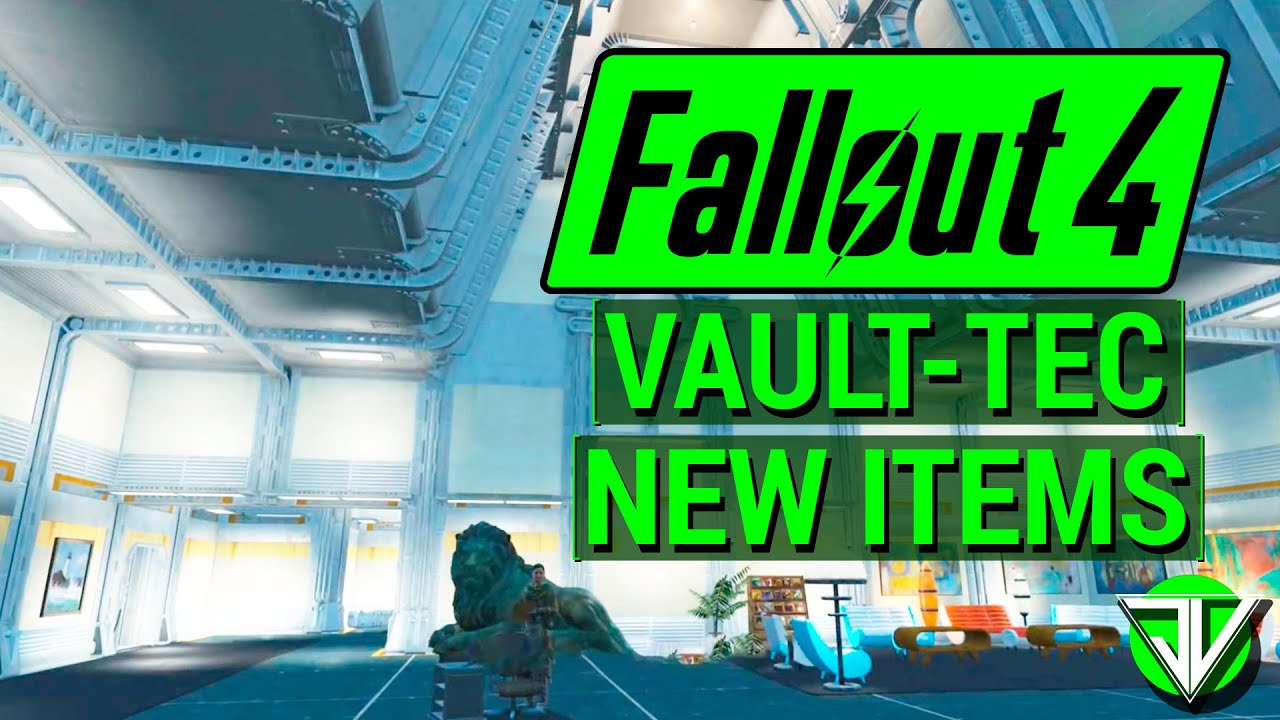 Fallout 4 new vault tec workshop dlc new items overview for Fallout 4 decorations
