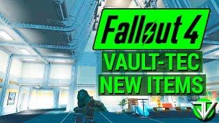 FALLOUT 4 New VAULT-TEC WORKSHOP DLC New Items Overview Vault Building, Decorations, and More