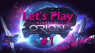 Master of Orion Let's Play 1 | Discussing Space 4x Genre and MOO's Place In It