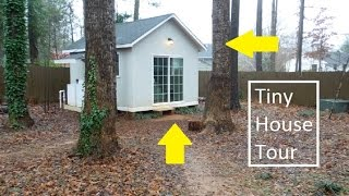 Tiny House Tour, Charlotte North Carolina