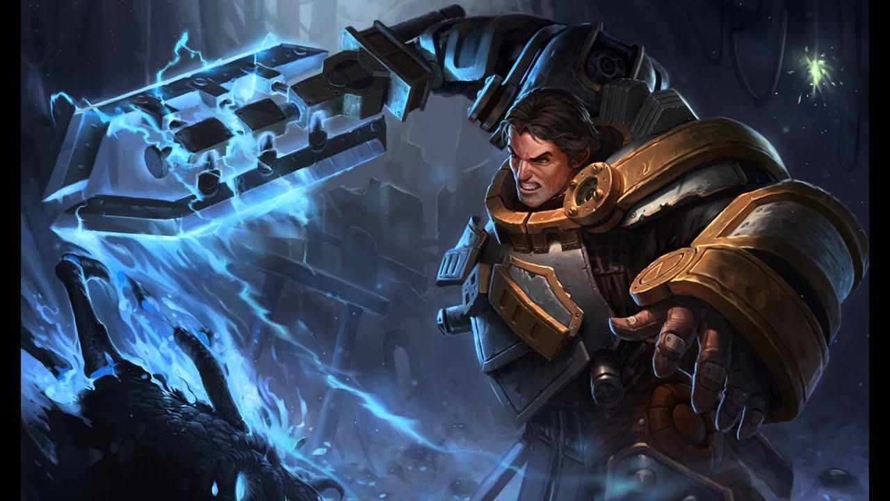 Steel Legion Garen Steel Legion Garen Spl...