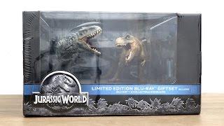 แกะกล่อง & รีวิว : Jurassic World Limited Edition Blu-ray Giftset