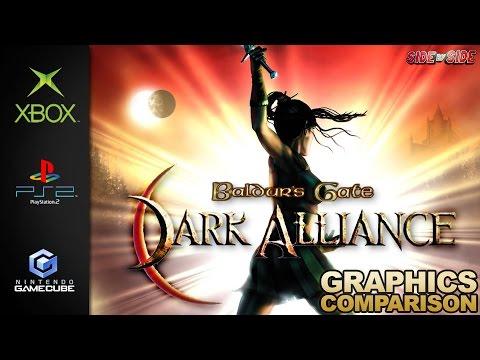 Baldur's Gate Dark Alliance | Graphics Comparison | ( XBOX , Ps2 , Gamecube )