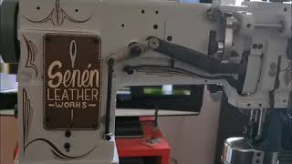 Pinstriped sewing machine by Necksbreaker