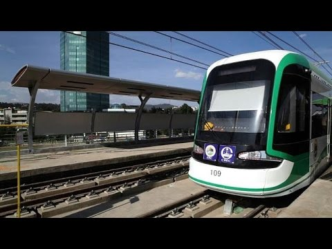 Ethiopia tests Sub-Saharan Africa's first light rail system