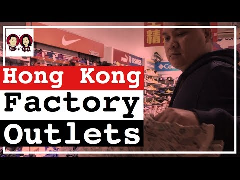 The CHEAPEST Hong Kong SNEAKERS Factory Outlets 2017 - Hong Kong Shopping Guide | Froi and Geri Vlog