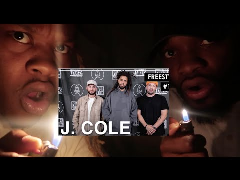 """OMG! J. Cole Freestyles Over """"93 Til Infinity"""" & Mike Jones' """"Still Tippin"""" - L.A. Leakers Freesty"""