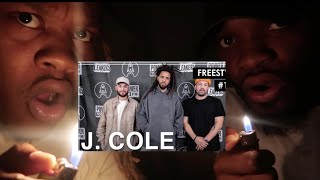 "OMG! J. Cole Freestyles Over ""93 Til Infinity"" & Mike Jones' ""Still Tippin"" - L.A. Leakers Freesty"