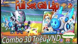 Garena DDTank:Full Set Giả Lập|Combo 30 Triệu VND,New Hot Garena DDTank