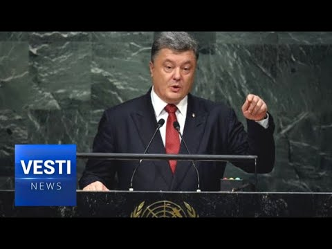 Poroshenko Visits US, Gives UN General Assembly Speech, Warns of Imminent Russian Strike!