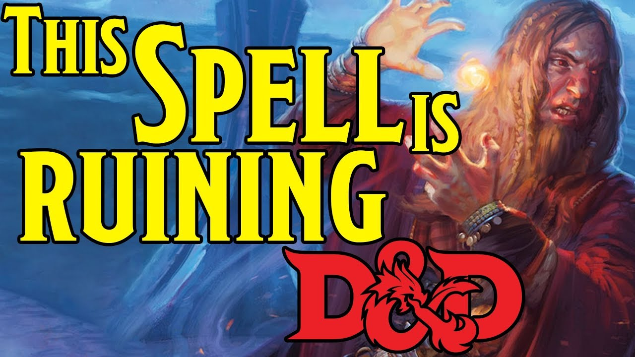 Overpowered Spell is Wrecking Dungeons and Dragons 5th Edition Games