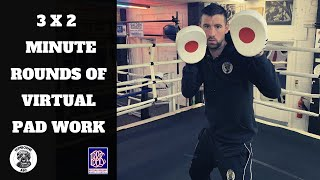 3 X 2 Minute rounds of Virtual Pad Work   Boxing Workout