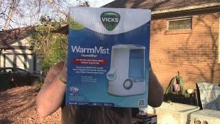 Vicks Warm Mist Humidifier Review