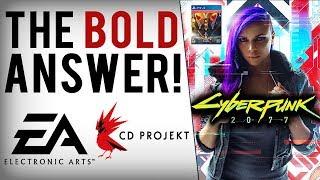 CD Projekt Red Shames EA Again, Won't Lock Away Cyberpunk 2077 Content Behind Pre-Orders