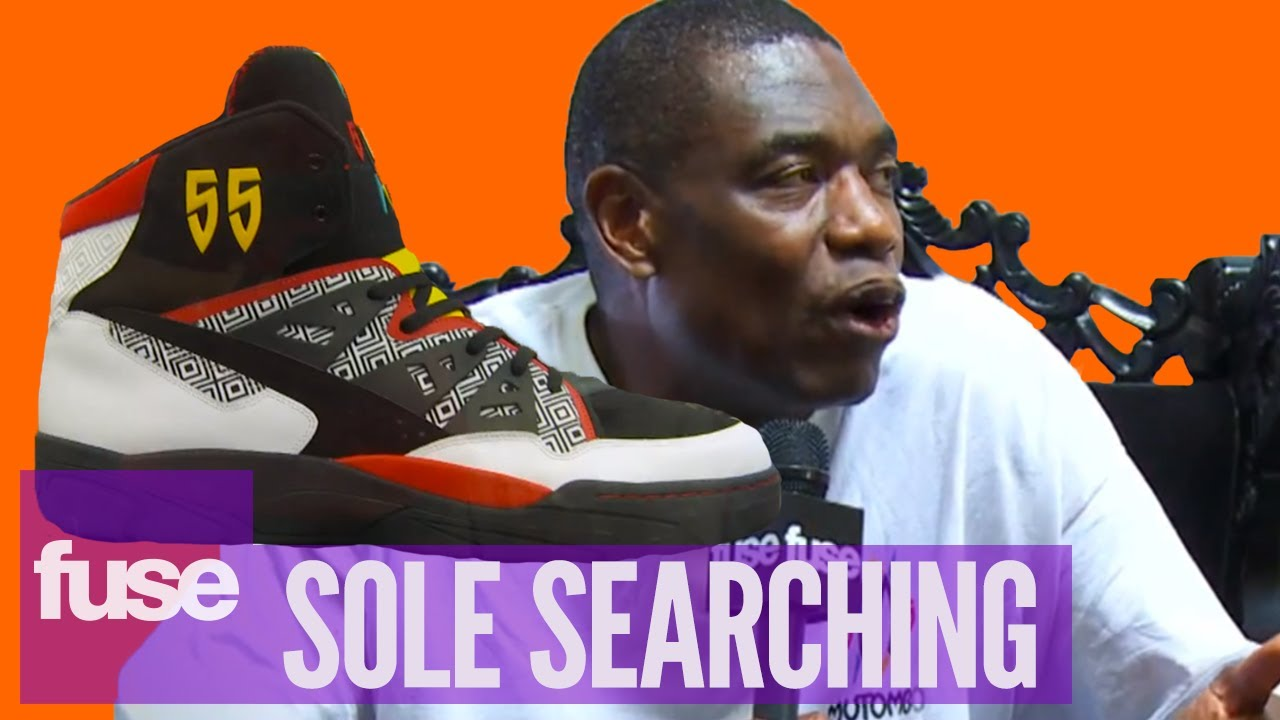 8d3c32923cf84e Dikembe Mutombo On Adidas Originals At Sneaker Con 2013 - YouTube