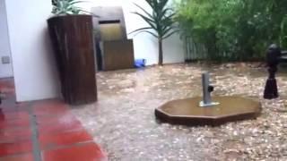 Flood Cape Town, Rain Bad Weather Franschoek 2013