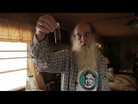 Alchemist Don Nance shows Dragon's Blood.