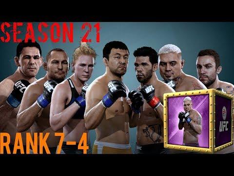 EA SPORTS UFC Mobile - H2H Season 21 Rank 7 - 4 Reward Opening!