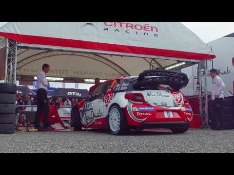 Abu Dhabi Total WRT - Tour de Corse 2016 - Day 2