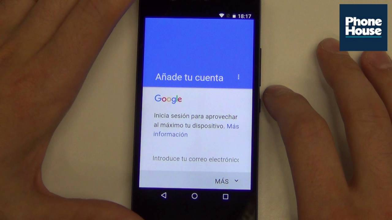 Tip Cómo Configurar Una Cuenta Google En Android